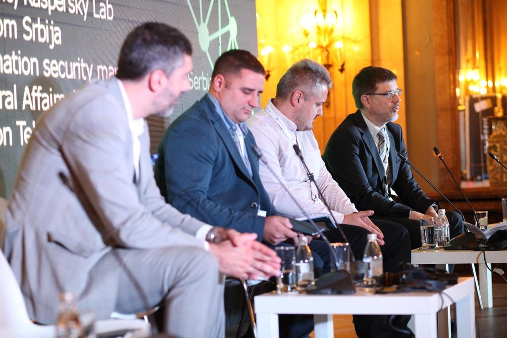 """Učešće na konferenciji """"CYBER SECURITY - Kako se suociti sa novim izazovima u poslovnom i finansijskom sektoru"""" cover image"""